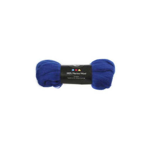 Merino Wool - Royal Blue - 100g