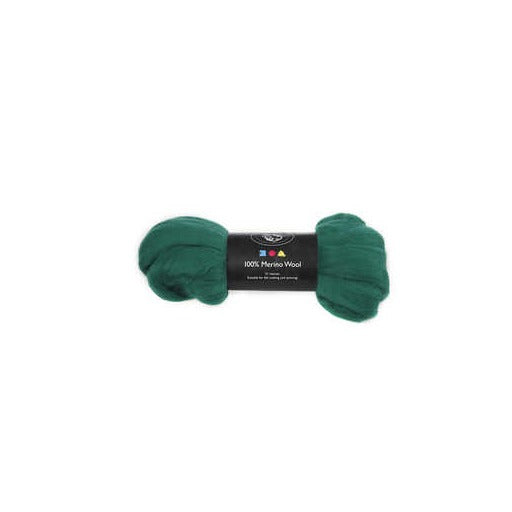 Merino Wool - Green - 100g