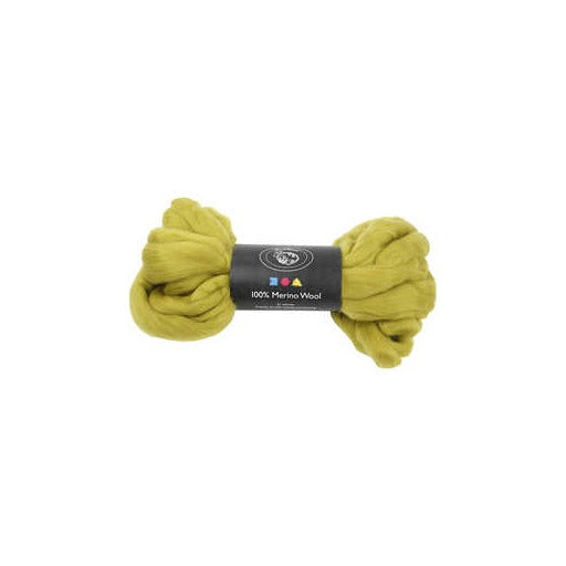 Merino Wool - Lemon - 100g