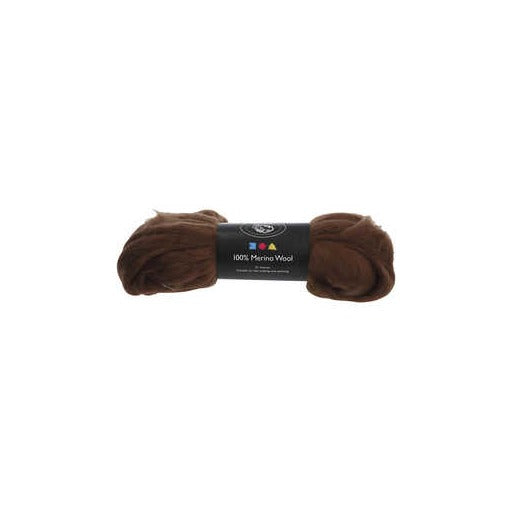 Merino Wool - Brown - 100g
