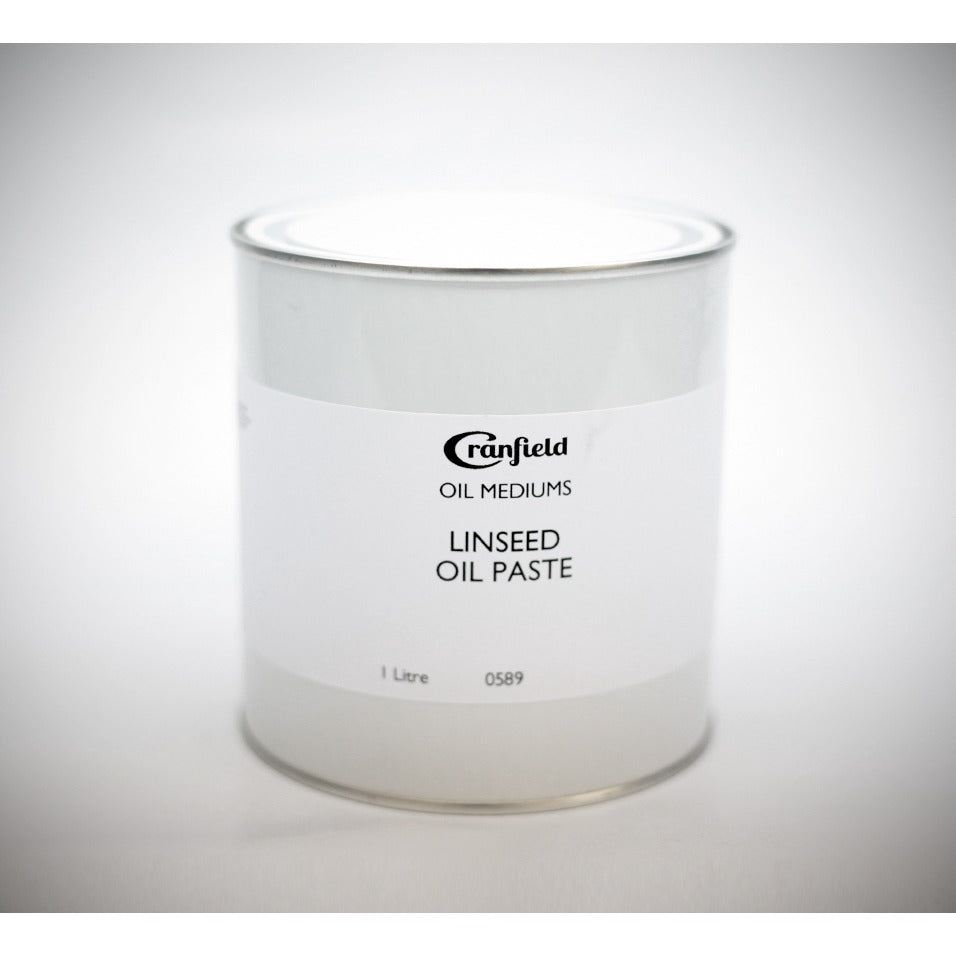 Cranfield Linseed Oil Paste 1 Litre Tin