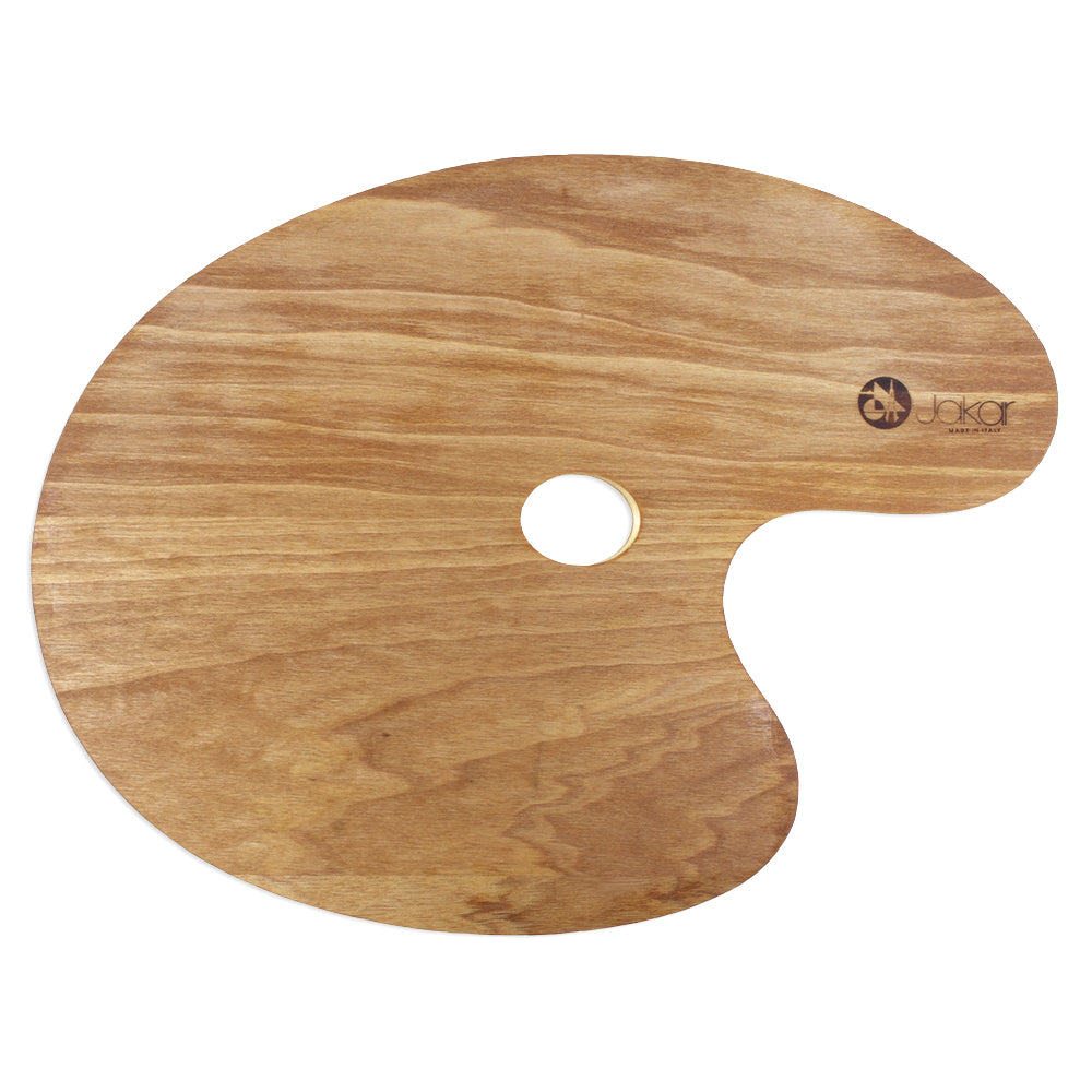 Jakar Wooden Oval Palette Large