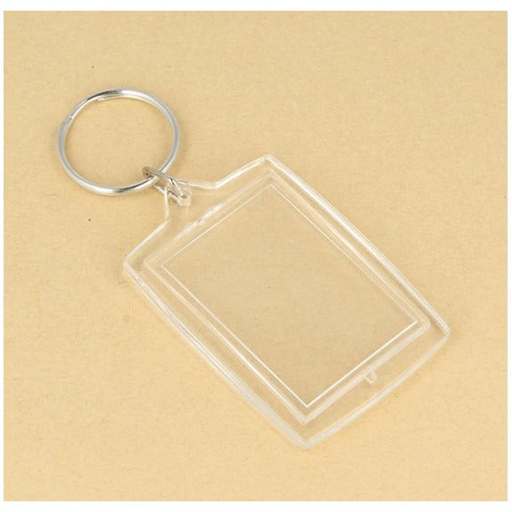 Artemio Photo Keyrings - 30X45mm - Pack of 4