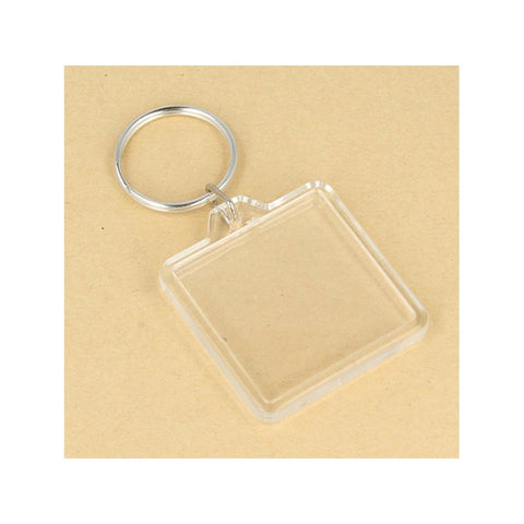 Artemio Photo Keyrings - Square - Pack of 4