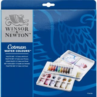 W&N Cotman Watercolours Palette Set
