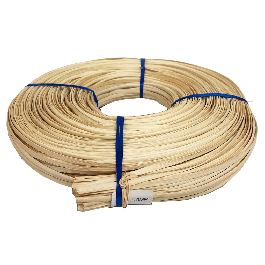 Lapping Cane Natural  5mm wide (500gms) (Rattan Flat Oval Core)