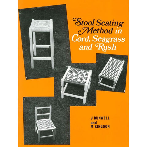 Stool Seating Method in Cord, Seagrass and Rush