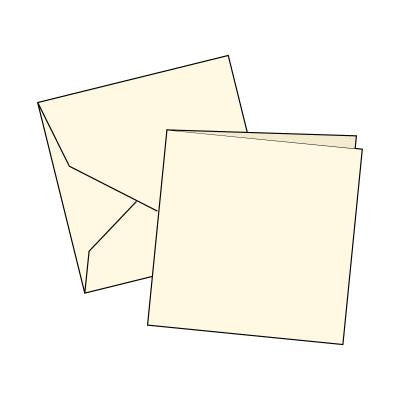 Cards Single Fold SMALL (115 x 115 mm) Square