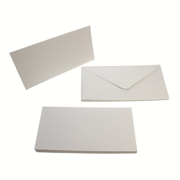 Tall Card Blanks 300gsm 10Pk - White