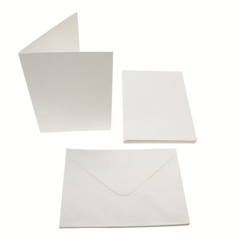 5x7 Card Blanks 300gsm 10Pk - White
