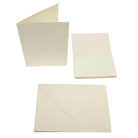 A6 Card Blanks 300gsm 10Pk - Cream