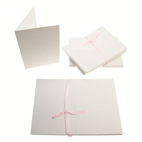 A6 Card Blanks 300gsm 50Pk - White