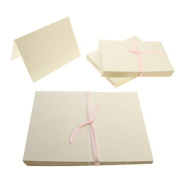 A6 Card Blanks 300gsm 50Pk - Cream