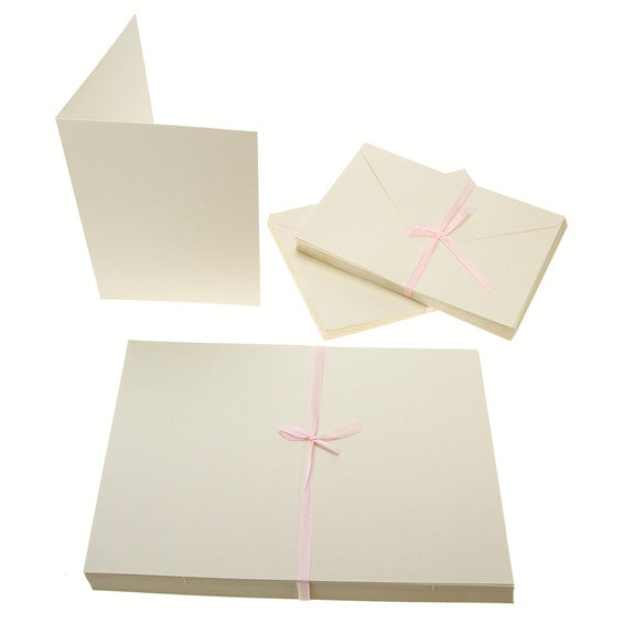 5x7 Card Blanks 300gsm 50Pk - Cream