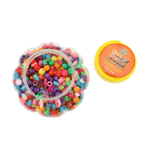 Barrel Of Assorted Beads 215g