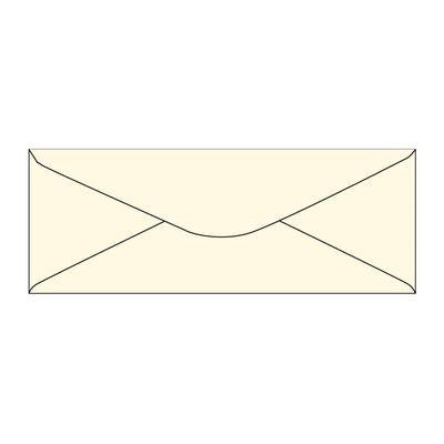 Envelopes Slim Cream 40 Pack