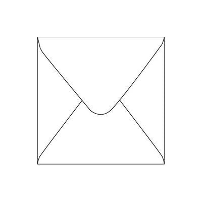 Envelopes Square White 40 Pack