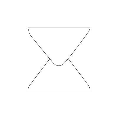 Envelopes Small Square White 50 Pack