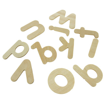 Wooden Alphabet Pack - 26pk
