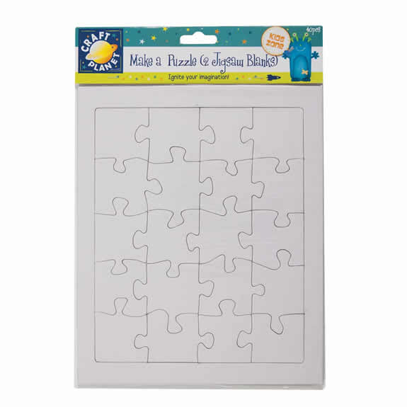 Make a Puzzle Pack - 2 Jigsaw Blanks -