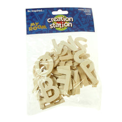 Wooden Letters Upper Case - 60pk