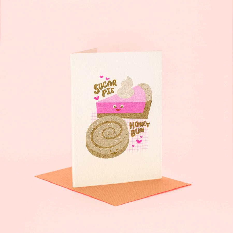 Sugar Pie Honey Bun - Fred Aldous Valentines Day Card