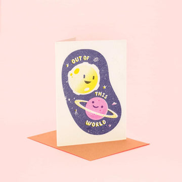 Out Of This World - Fred Aldous Valentines Day Card