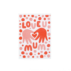Love U Mum - Fred Aldous Card