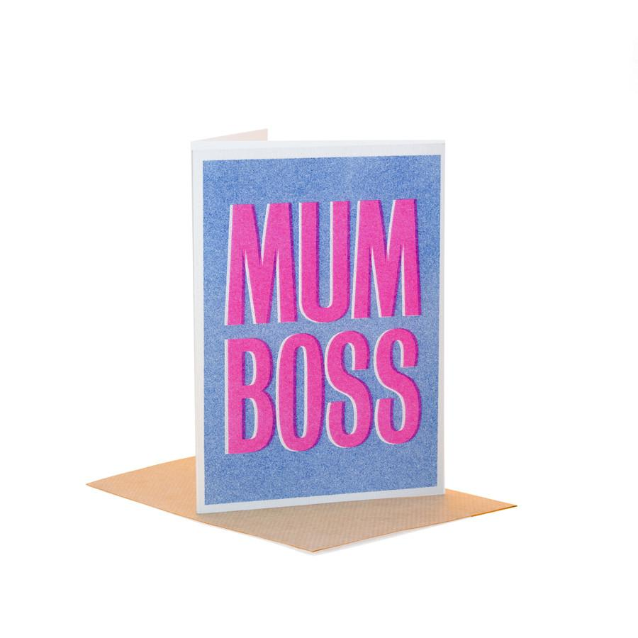 Mum Boss - Fred Aldous Card