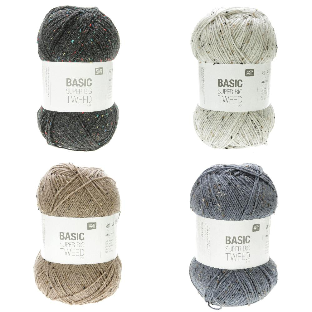 Rico - Basic Super Big Tweed Aran