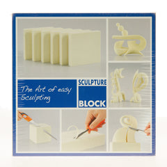 Sculpture Block 15 x 15 x 2.5cm - 2 pack