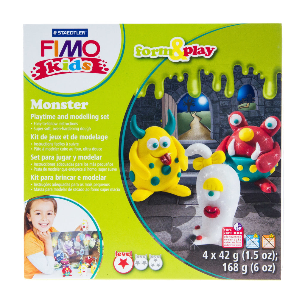 Fimo Kids Form & Play Monsters