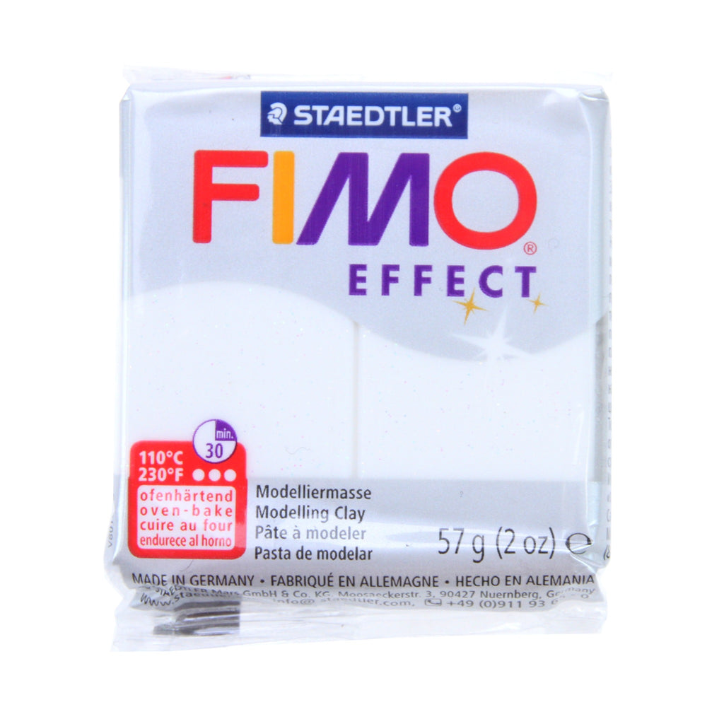 Fimo Effect 57g Block White