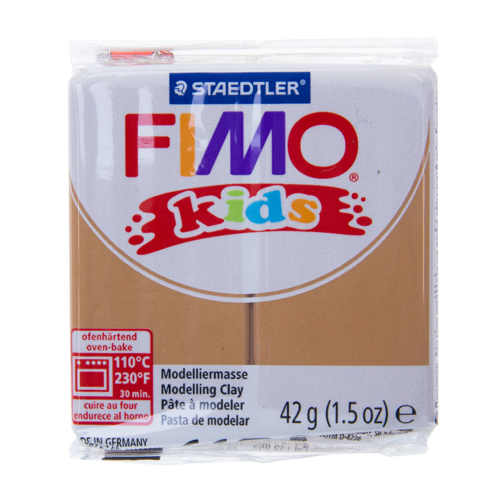Fimo Kids 42g Block Light Brown