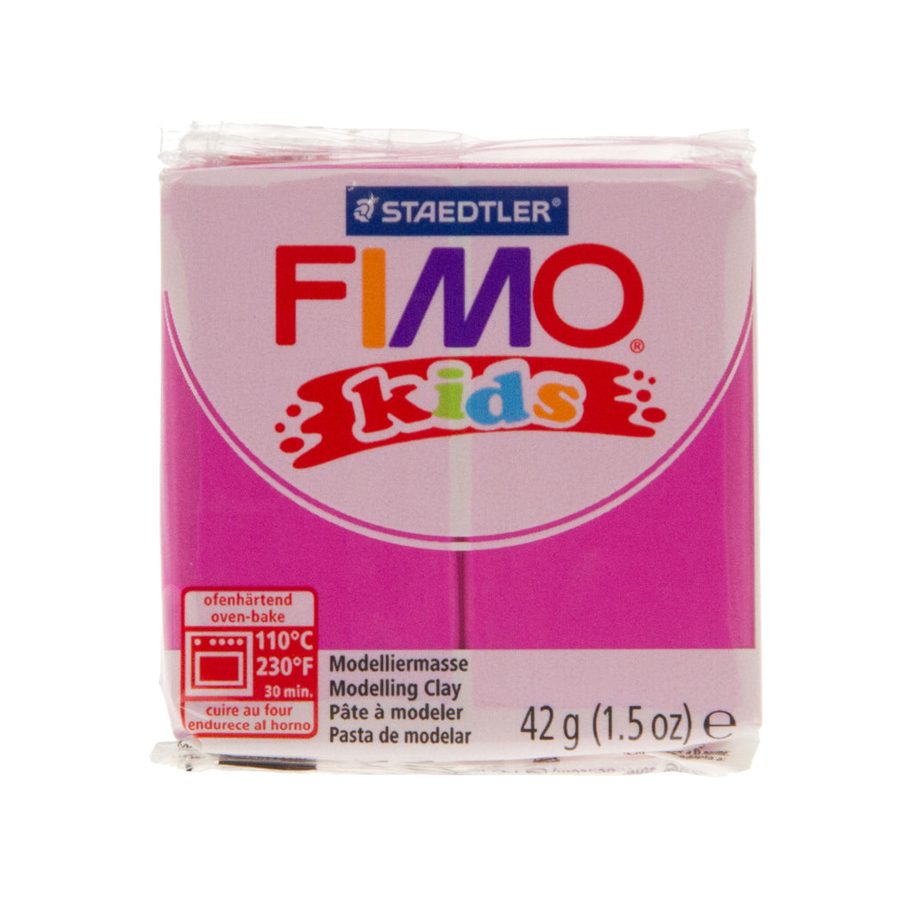 Fimo Kids 42g Block Light Pink
