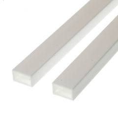 Evergreen Styrene Rectangle Tube