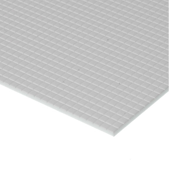 "Evergreen Styrene Tile 1.6mm Squares (1/16"")"