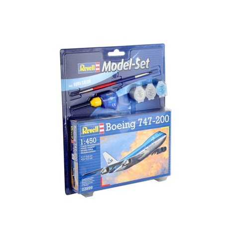 Revell - Model Set Boeing 747-200