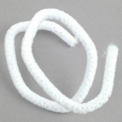Chenille 6mm White - 20 Pk aka Pipe cleaners