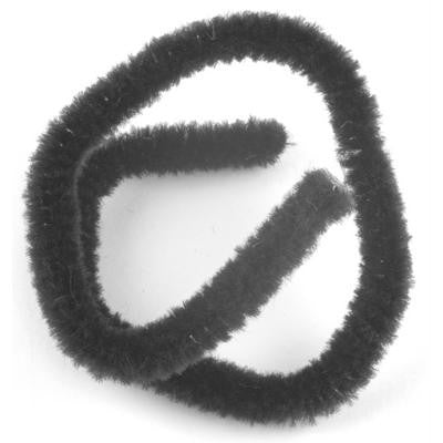 Chenille 9mm Black - 15 Pk aka Pipe cleaners