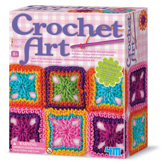 4M Crochet Art Kit