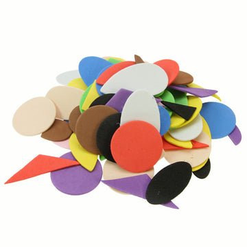 Craft Foam Shapes Bonus Bag - 750 Pack