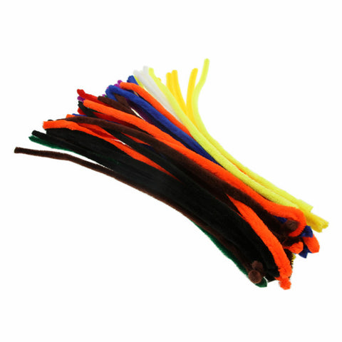 Extra Long Colossal Pipe Cleaners - 50 Pack