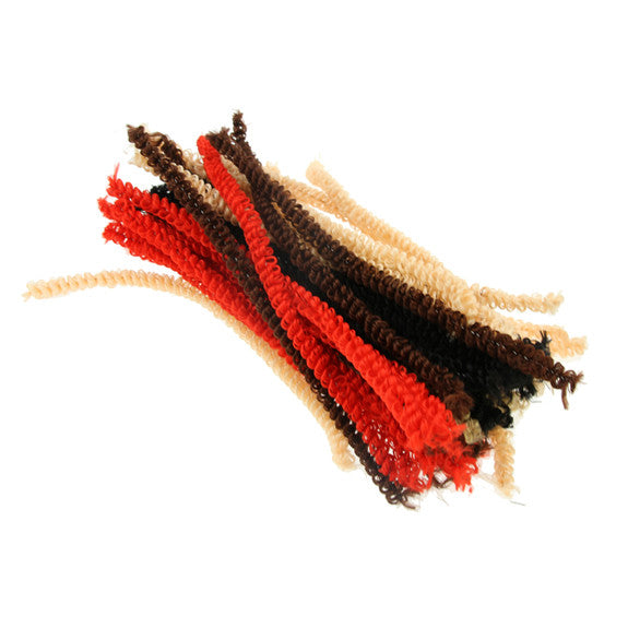 Loopy Pipe Cleaners - Hair Colours 50 Pack