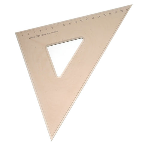 Linex College 45 Deg 28cm Set Square