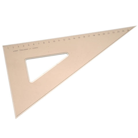 Linex College 60 Deg 28cm Set Square