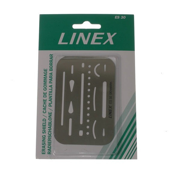 Linex Stainless Steel Erasing Shield
