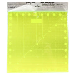 Le Summit Non-Slip Fluorescent Quilting Ruler