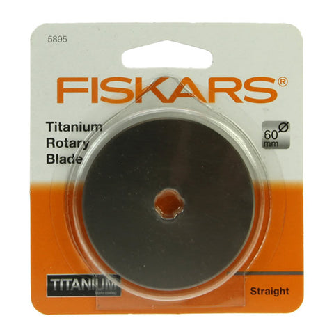 60mm Titanium Rotary Blade - Straight