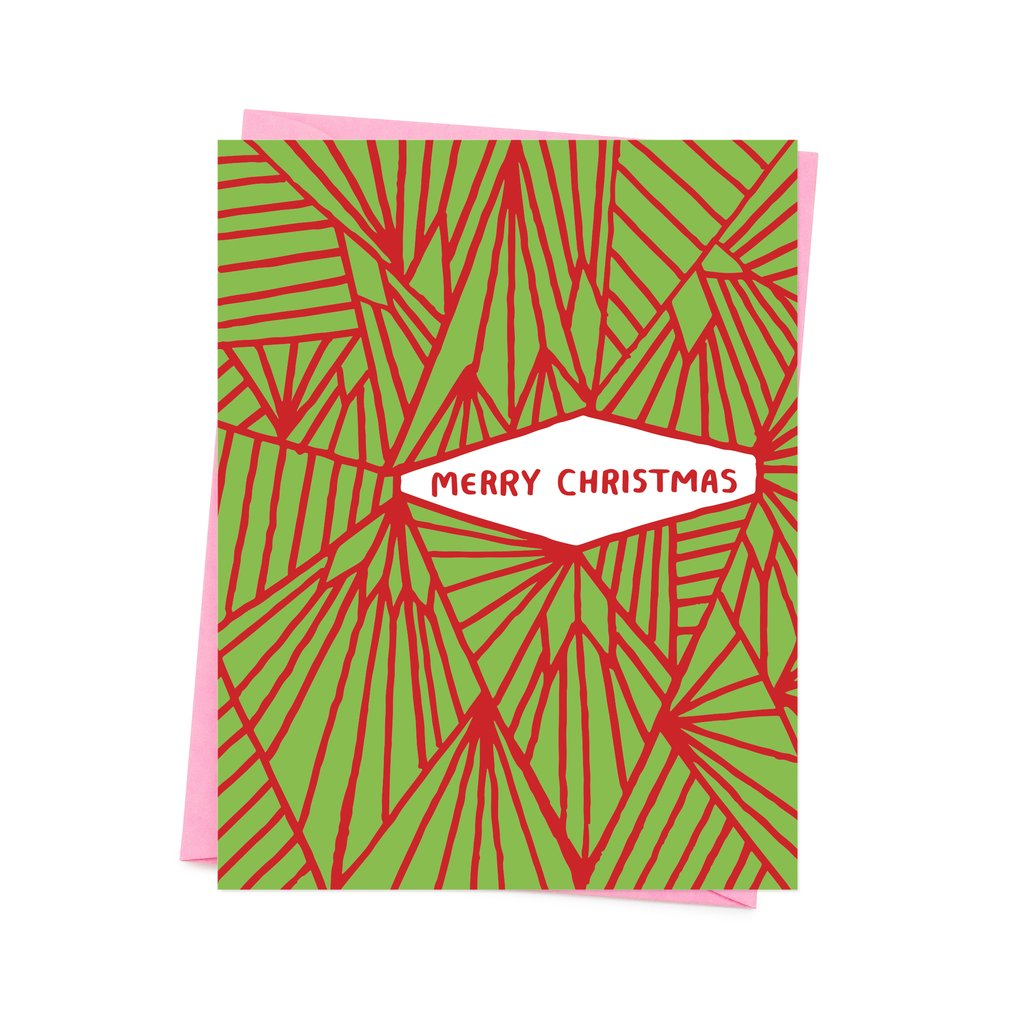 Merry Christmas Geometric